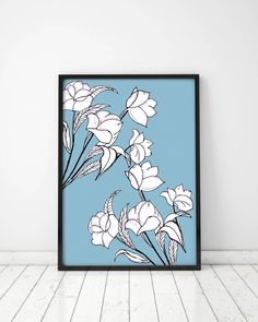 White flowers, For a newborn baby, For Kids, Birthday, Housewarming Gift, Home decor, Gift idea by MerryGallery on Etsy White Flowers, True Love, House Warming, Unique Jewelry, Birthday, Handmade Gifts, Kids, Baby, Poster
