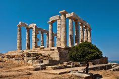 Poseidon Temple at Cape Sounio