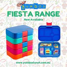 Yumbox Fiesta Range - Out Now
