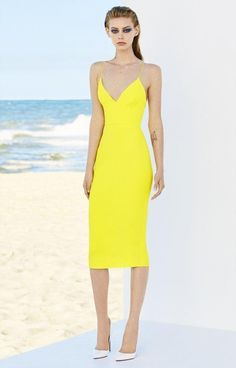 The Ella Stretch Bikini Lady Dress by Alex Perry. This Alex Perry dress features a fitted silhouette, v-neckline, and knee-length hem. Fitted Silhouette V-neckline Fully lined Exposed Back Zipper Stylish Dresses, Simple Dresses, Beautiful Dresses, Short Dresses, Summer Dresses, Alex Perry, Chic Dress, Dress Up, Event Dresses