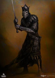 """quarkmaster: """" The Hobbit - Ringwraiths The reappearance of the Ringwraiths in the Hobbit offered a fantastic opportunity to revisit these iconic characters. Unlike the previously depicted """"Black Riders"""" these designs explored the Ringwraith's..."""