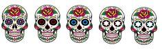 caveira mexicana tattoo desenho