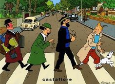 Abbey Road Tintin
