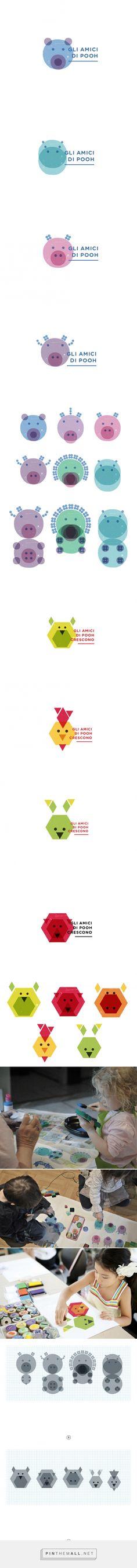 Nursery School Brand Identity on Behance - created via https://pinthemall.net