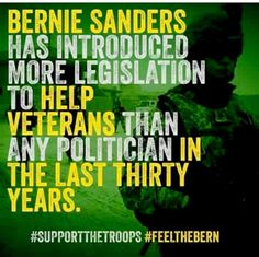 Bernie & Veterans