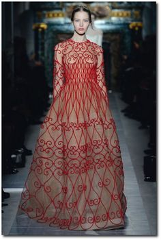 Valentino Spring 2013 Couture Show