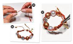 Shambala ou Macramê: aprenda a fazer a pulseira da moda | Como Faz Tudo