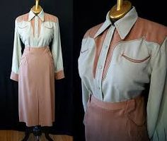 Image result for 1950s western wear