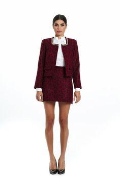 Red leopard coat Leopard Coat, Leopard Skirt, Red Leopard, Social Club, Wool, Skirts, Cotton, Designers, Mini