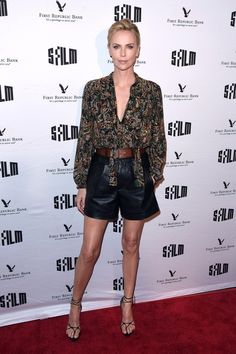 Charlize Theron proves she still has the best legs in Hollywood