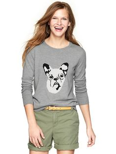 The Look 4 Less: Inspired by...J Crew Frenchie Sweater