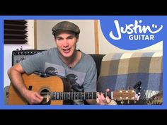 How to play I Want To Hold Your Hand by The Beatles (Beginner Song Guitar Lesson BS-410) - YouTube