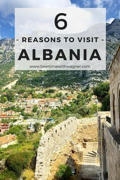 Can't decide if you want mountain views or a seaside vacation? Looking for an incredibly cheap holiday? Albania has all of this and more! Check out my Top 6 Reasons to Visit Albania! - Beer Time With Wagner