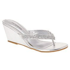 Call It Spring® Chynna Rhinestone Sandals - jcpenney  PROM 2013 $40