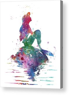 #ariel #disney #littlemermaid #mermaid #watercolor