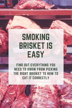 Brisket is the staple of BBQ. Before you try anything else get your brisket game on point! Slow Cooked Brisket, Brisket Meat, Smoked Brisket, Smoked Bacon, Bbq Meat, Brisket Rub, Rub Recipes, Grilling Recipes, Beef Recipes