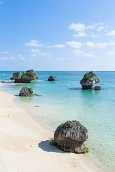Beautiful Southern Japanese coastline on New Years, Okinawa (by Ippei & Janine Naoi) Places Around The World, Oh The Places You'll Go, Places To Travel, Places To Visit, Around The Worlds, Paradis Tropical, Destinations, Japan Travel, Asia Travel