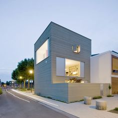 """Stripe House by GAAGA """"Location: Leiden, The Netherlands"""" 2012"""