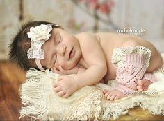 itty-bitty Lil Lacie - PINK baby newborn leg warmers with ivory knit lace trim legwarmers photo prop baby legs baby leg warmers - 3 colors Newborn Photo Props, Newborn Photos, Cute Babies, Baby Kids, Baby Baby, Baby Leg Warmers, Grace And Lace, Baby Leggings, Pink Leggings
