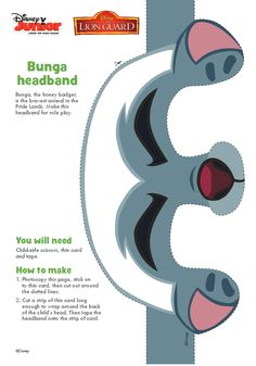 http://disneyjunior.disney.co.uk/the-lion-guard/makes/bunga-headband
