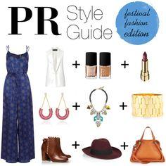PR Style Guide: Festival Fashion