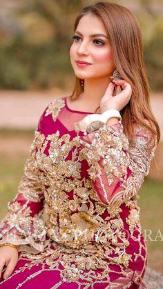 Beautiful Bridal Dresses, Beautiful Pakistani Dresses, Beautiful Dress Designs, Pakistani Party Wear Dresses, Pakistani Wedding Outfits, Designer Party Wear Dresses, Pakistani Bridal Couture, Fancy Dress Design, Stylish Dresses For Girls