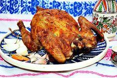 Pastrama-de-pasare-intreaga-pofta-buna-cu-gina-bradea (6) Romanian Food, Tandoori Chicken, Turkey, Meat, Ethnic Recipes, Chef Recipes, Kochen, Peru, Turkey Country