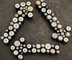 Power up your battery recycling know-how Battery Recycling, Palette, Shipping Crates, Nail Fungus, Lead Acid Battery, Mojito, Fungi, Recycled Crafts, Dekoration