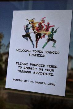 Northland Special Events: Power Ranger Samurai Birthday Party