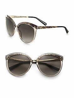 Dior Oversized Round Sunglasses