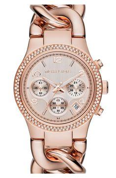 Women\u0027s Michael Kors \u0027Colette\u0027 Round Bracelet Watch, 34mm - Gold/ Pink |  Addison | Pinterest | Bracelets, Ps and Women\u0027s