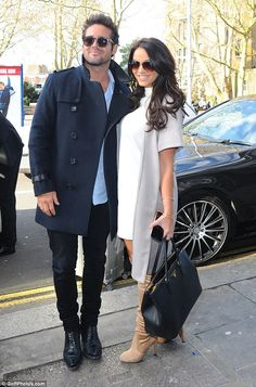 Getting close: The pair trip came just a few days after they had been spotted in London to...