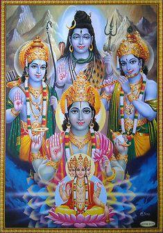 Hindu Cosmos - Lord Vishnu, Shiva, Brahma, Rama, Krishna (via. Hanuman Images, Lord Krishna Images, Radha Krishna Pictures, Krishna Radha, Hanuman Ji Wallpapers, Lord Shiva Hd Wallpaper, Ram Wallpaper, Mobile Wallpaper, Mahakal Shiva