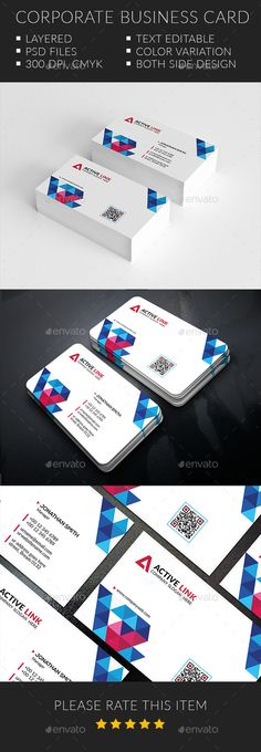 Simply Creative Business Cards Template #visitcard #design Download: http://graphicriver.net/item/simply-creative-business-cards/12591922?ref=ksioks