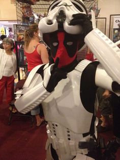 Deadpool Causing Trouble