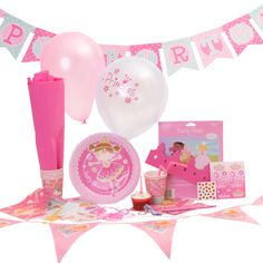 Complete Princess Party In A Box - a party to your door in just 4 clicks.