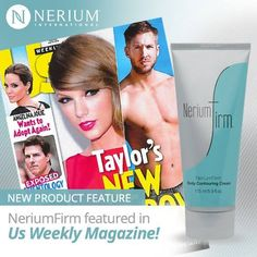 Another CLUE! #NeriumFirm featured in Us Weekly Magazine, I would call that fantastic news!! http://sherylscott.nerium.com #looseskin #nerium #asseenin