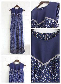 Šaty_modrofarebné