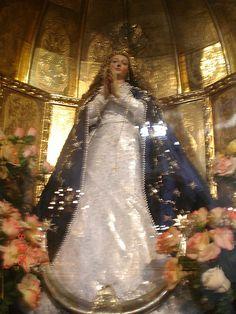 apariciones de la virgen in venezuela. Virgen Iglesia de San Francisco, Caracas