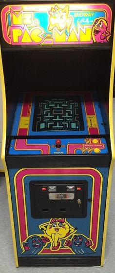 MS Pacman Arcade Game | eBay