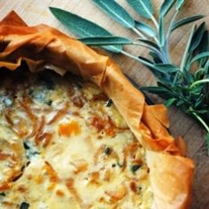winter squash caramelized onion gorgonzola and sage combine for the ...