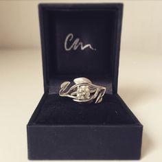 Bespoke Engagemet Ring Custom made diamond, platinum, sterling silver, white rose gold, 18ct gold rings by ChristinaMadeIt on Etsy https://www.etsy.com/uk/listing/238268263/bespoke-engagemet-ring-custom-made