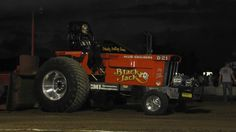 Blackjack D21-my tractor, that's me on the seat.