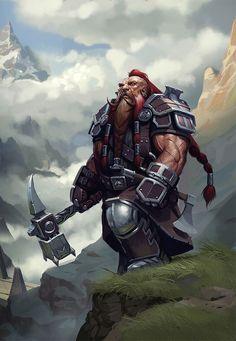 104817f0a92fc6086ebfa41736c04e30--dwarf-paladin-dwarf-warrior.jpg (691×1000)
