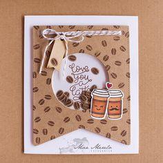 Love you a Latte Shaker Card + 1 | von Mar Merelo