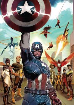 Cap & The Avengers