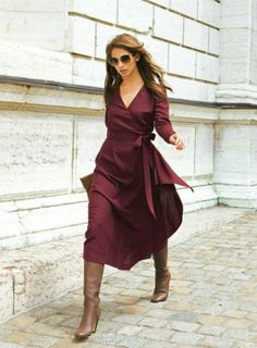 inspiration: midi and boots inspiracion - Lady Addict
