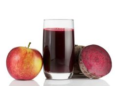 Detox Beet Juice Ingredients: 1 red beet with the green top 4 carrots 2 celery ribs 1 apple 1 cup of spinach 1 loosely packed cup of parsley 1 slice of fresh ginger – about 1/2 inch thick