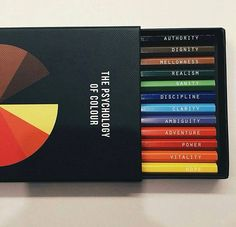 The Psychology of Colour Pencil Kit from Bibelot and Token