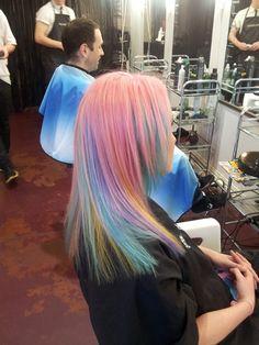 pastel rainbow hair | Tumblr